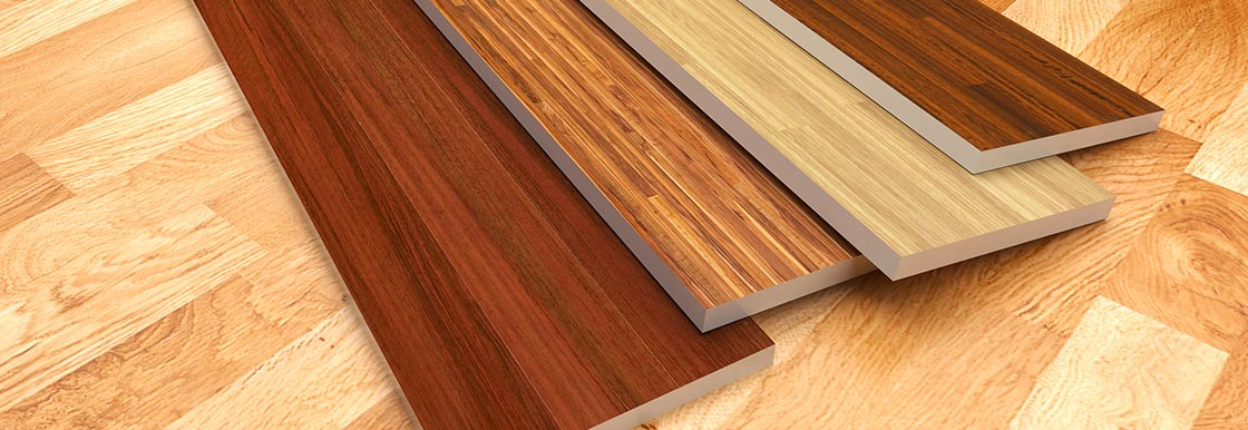 Samples of some of our hardwood floor installation options in Miami, FL